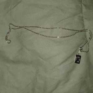 Hello Kitty SS Necklace
